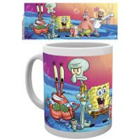 Spongebob Square Pants Group Mug