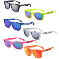 Salice 3047 ITA Casual Sunglasses - Fluorescent Fuchsia/Blue