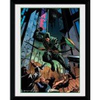 DC Comics Arrow Attack - 8x6 Framed Photographic