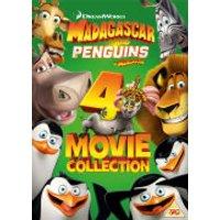 Penguins of Madagascar/Madagascar 1-3 Box Set