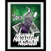 DC Comics Batman Comic The Joker Cards - 8x6 Framed Photographic