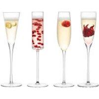 LSA Lulu Champagne Flute - Clear