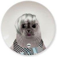 Wild Dining Seal Cub - Ceramic Side Plate