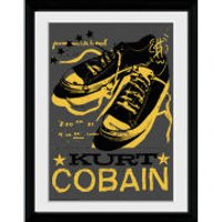 Kurt Cobain Shoes - 30x40 Collector Prints