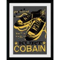 Kurt Cobain Shoes - 30x40 Collector Prints