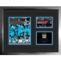 Manchester City 6-1 Vs Man Utd - High End Framed Photo - 16 x 20