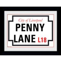 Penny Lane - 8 x 6 Framed Photographic