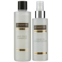 Jo Hansford Expert Colour Care Anti Frizz Shampoo (250ml) with Protect and Shine Leave In Conditioner (150ml)