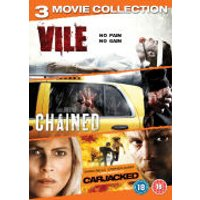 Abduction Triple: Vile / Chained / Carjacked