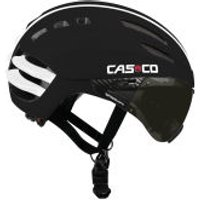 Casco Speedairo Helmet with Smoke Visor - Black - Medium (54-59cm)