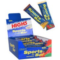 High5 Sports Bar - Box of 25 Berry