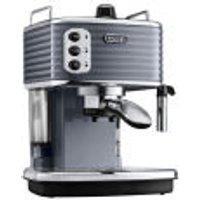 DeLonghi Scultura Espresso Coffee Machine - Gun Metal High Gloss