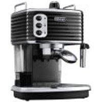 DeLonghi Scultura Espresso Coffee Machine - Black High Gloss