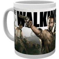 The Walking Dead Banner Mug