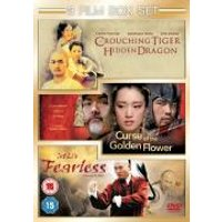 Curse Of The Golden Flower/Fearless/Crouching Tiger