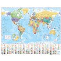 World Map 2012 - Mini Poster - 40 x 50cm