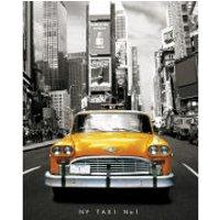 New York Taxi - Mini Poster - 40 x 50cm