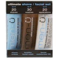 Men-U Set 3 x 15ml - Ultimate Shave/ Facial Set