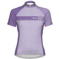 Primal Womens Caprice Purple Short Sleeve Jersey - Lilac/Purple - XL