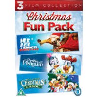 All Dogs Christmas Carol / The Pebble and the Penguin / Ice Age: A Mammoth Christmas