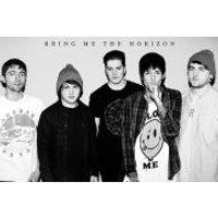 Bring Me The Horizon Black and white - Maxi Poster - 61 x 91.5cm