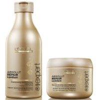 LOreal Professionnel Absolut Repair Lipidium Shampoo (250ml) & Masque (200ml) (Bundle)