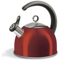 Morphy Richards 46501 Accents Whistling Kettle - Red - 2.5L