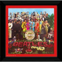 The Beatles Sgt Pepper - 12 x 12 Framed Album Prints