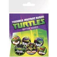 Teenage Mutant Ninja Turtles Heroes - Badge Pack