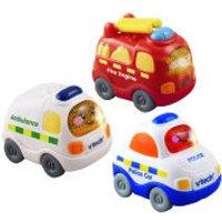 Vtech Toot-Toot Drivers - Set 2. Ambulance Fire Engine Police Car