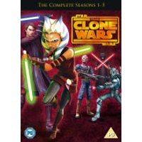 Star Wars: Clone Wars - Seasons 1-5