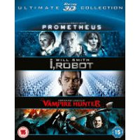 Prometheus / I Robot / Abraham Lincoln 3D Collection