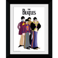 The Beatles Yellow Submarine Group - Collector Print - 30 x 40cm