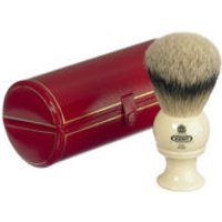 Kent Traditional Pure Silver Tip Badger Shaving Brush - Large (Bk8)