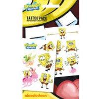 Spongebob Spongebob Squarepants - Tattoo Pack