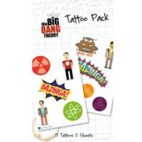 The Big Bang Theory Bazinga - Tattoo Pack