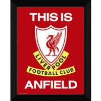 Liverpool This Is Anfield - 16 x 12 Framed Photographic