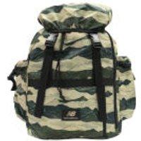 New Balance Mens AOP Backpack - Bronze/Green