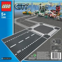 LEGO City: Straight and Crossroad (7280)