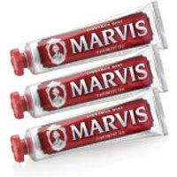Marvis Cinnamon Mint Toothpaste Triple Pack (3 x 75ml)