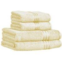 Restmor 100% Egyptian Cotton 4 Piece Supreme Towel Bale Set (500gsm) - Ivory