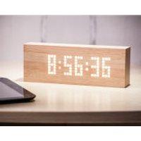 Message Click Clock - Beech