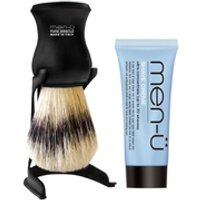 men- Barbiere Shave Brush and Stand - Black