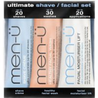 men- Ultimate Shave Facial Set - 15ml (3 Products)