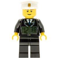 LEGO City: Policeman Mini-Figure Clock