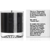 Baxter of California Flammable Scented Cassis Noir Candle 255g