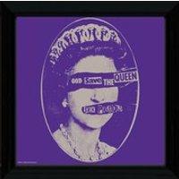 Sex Pistols God Save the Queen - 12 x 12 Framed Album Prints