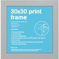 Silver Frame - 30 x 30cm