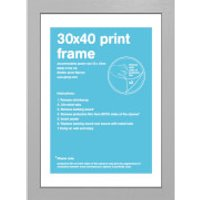 Silver Frame - 30 x 40 cm