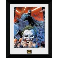 Batman Joker Defeated - 30 x 40cm Collector Prints